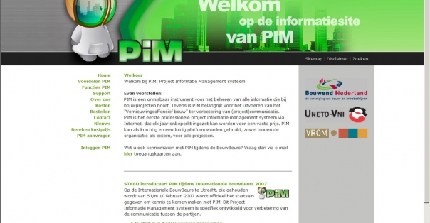 PIM: Project Informatie Management systeem