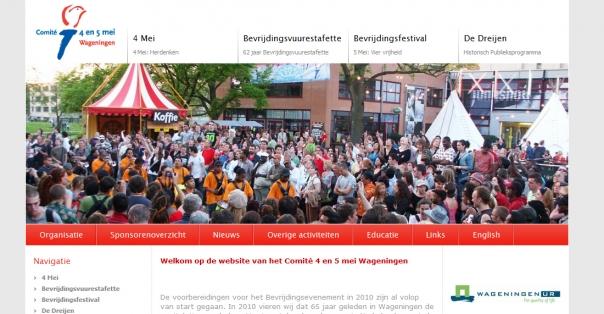 4 en 5 Mei Wageningen