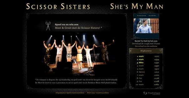 Scissor Sisters - meet & greet