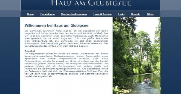 Haus am Glubigsee