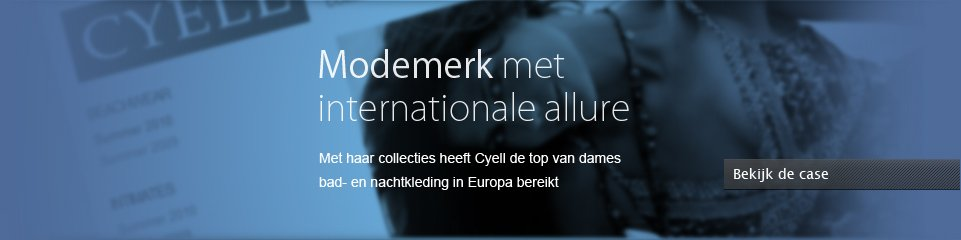 Modemerk met internationale allure