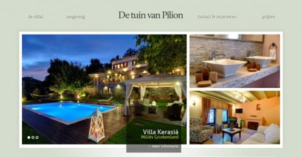 De tuin van Pilion
