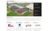 Een nieuwe overzichtelijke website voor Condor Group
